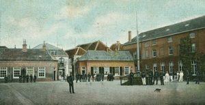 binnenplaats koloniaal werfdepot ca. 1900
